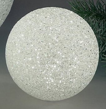 Deko-Kugel aus Kunststoff LED - günstig bei dekodor