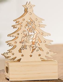Weihnachtsbaum 14 cm g nstig bei dekodor for Weihnachtsdeko fa r aussen aus holz
