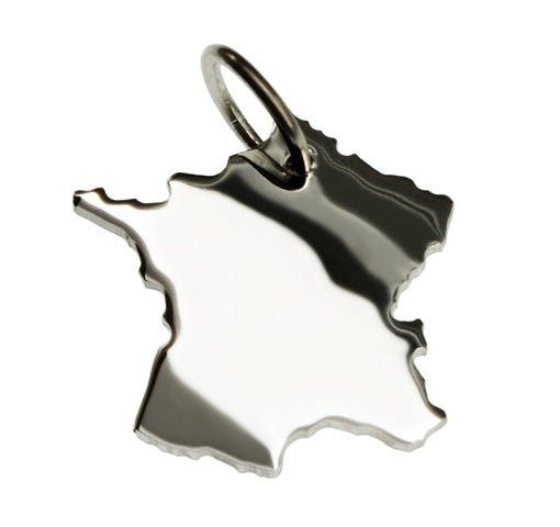 Frankreich kettenanh nger silber g nstig bei dekodor for Frank dekorationsartikel