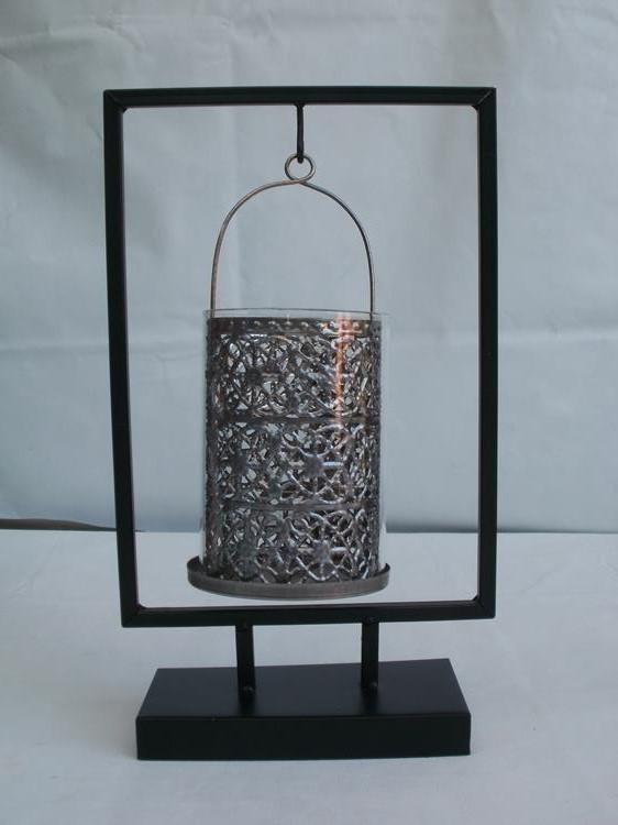 kerzenhalter orientalisch aus metall 33 5 cm g nstig bei dekodor. Black Bedroom Furniture Sets. Home Design Ideas