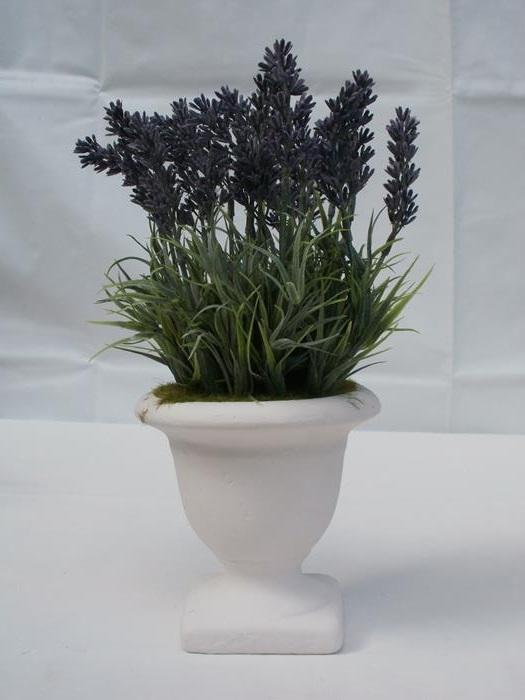 Lavendel Im Topf Kunstblume Gunstig Bei Dekodor