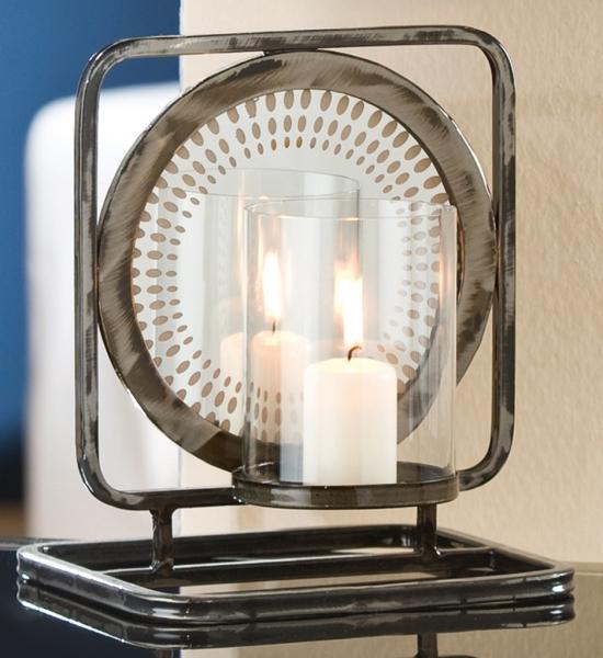 standkerzenhalter mit spiegel g nstig bei dekodor. Black Bedroom Furniture Sets. Home Design Ideas