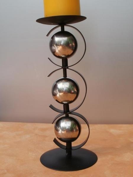 kerzenst nder kugel 26 cm hoch g nstig bei dekodor. Black Bedroom Furniture Sets. Home Design Ideas
