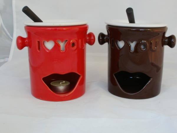 2er Fondue-Set love